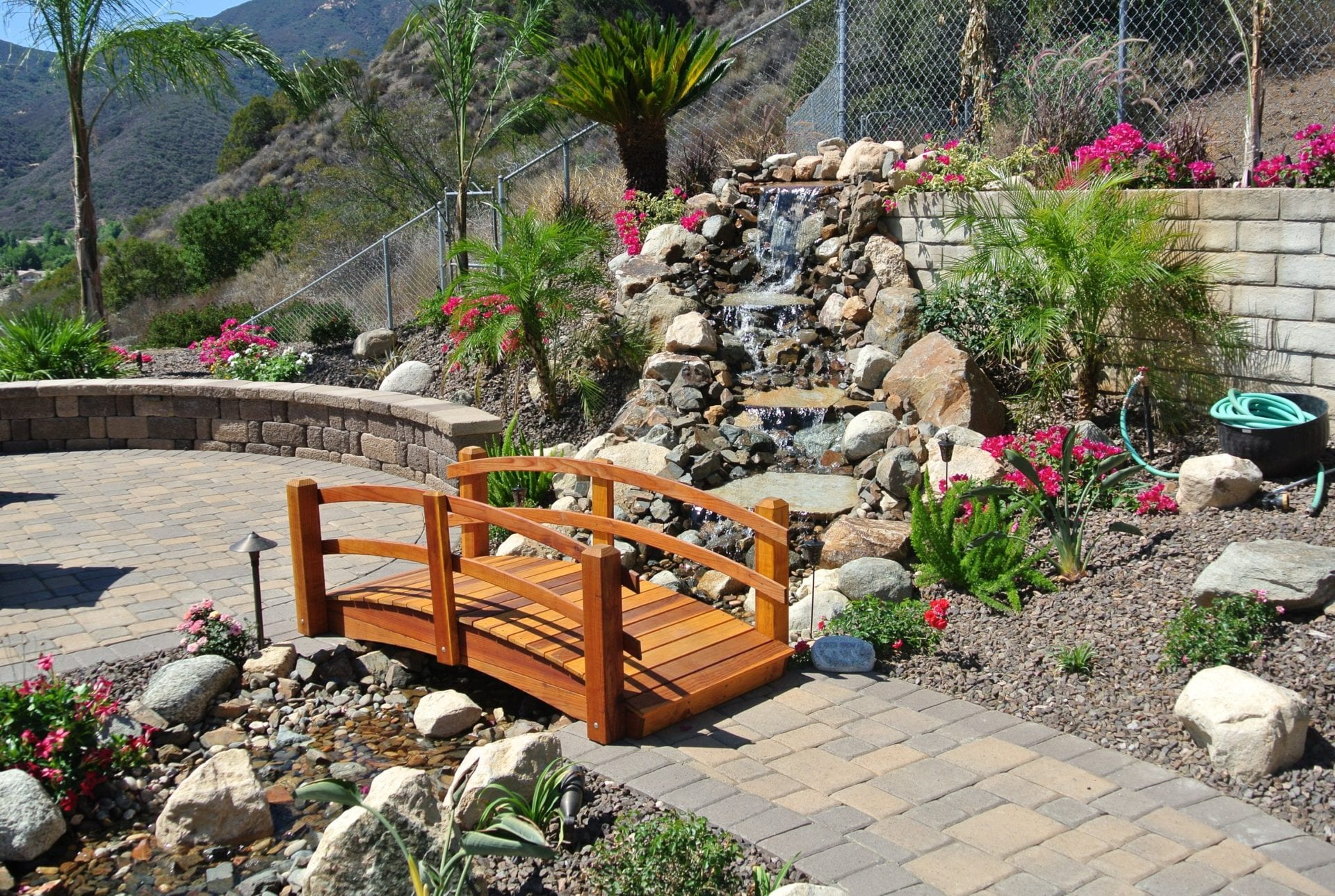Water Feature - Landscape design