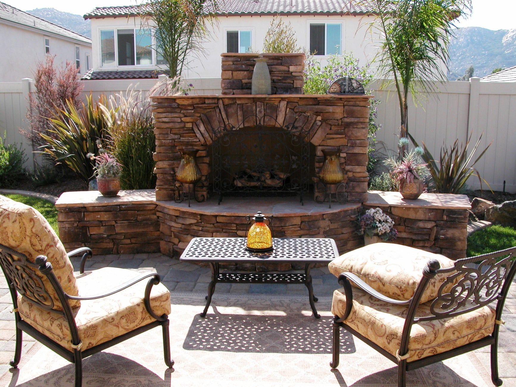 fire pits vs fireplace u2013 a topic for your inland empire area home