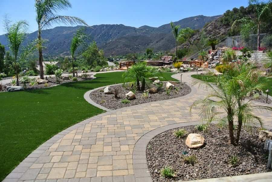 Image of pavers - Landscape design in the Inland Empire area