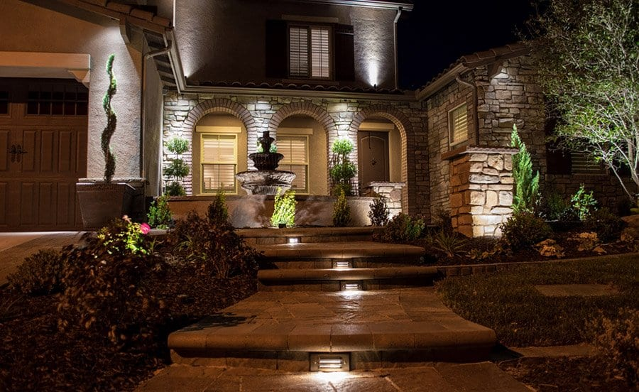Bright ideas for outdoor landscape lighting aloadofball Image collections