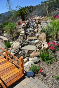 Image of a water feature - Curb appeal - Landscape design