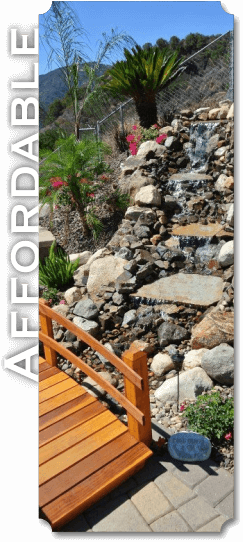 Water Feature Design in Chino Hills CA